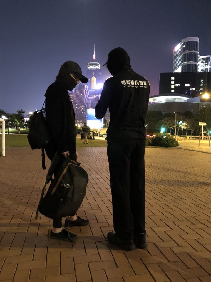 "Activists K and Fisher in Hong Kong: ""How can we fight back?"""