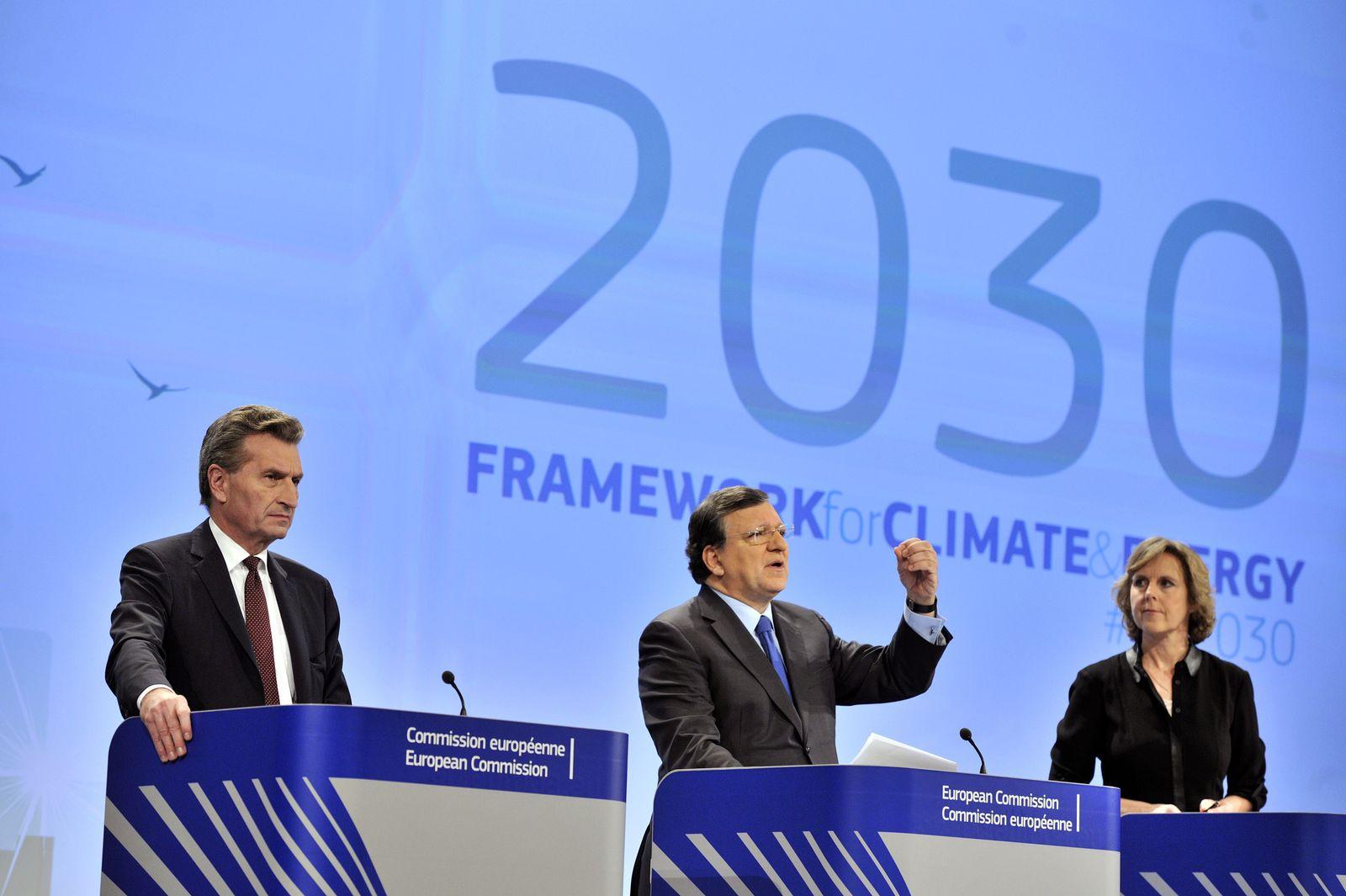 Hedegaard / Oettinger / Barroso