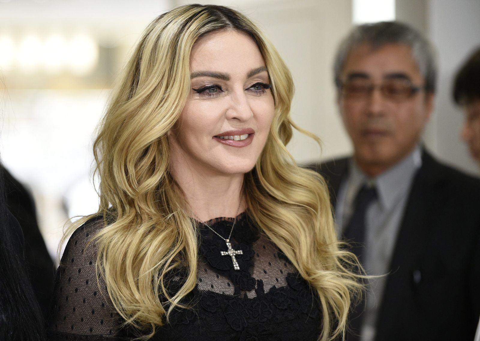 US singer, songwriter and actress Madonna