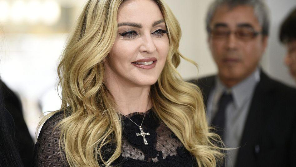 Madonna im Februar 2016: Persönliche Gegenstände der Sängerin werden versteigert