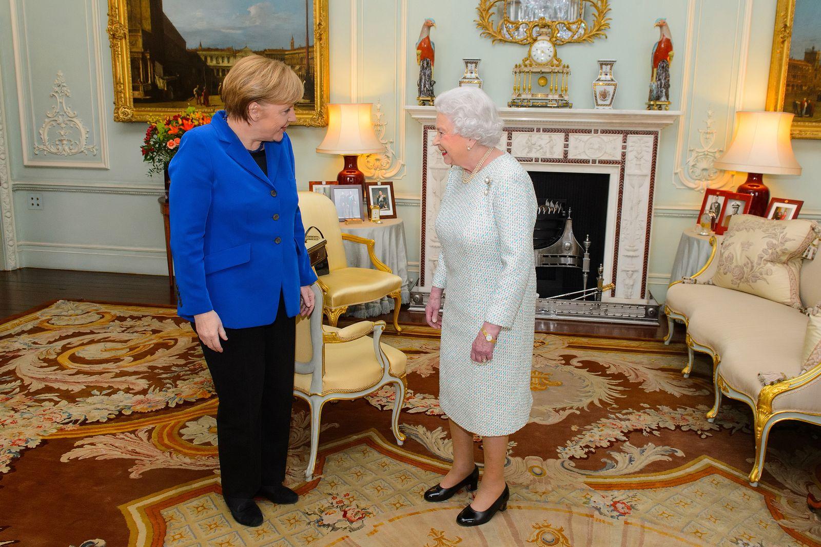 Merkel und die Queen/