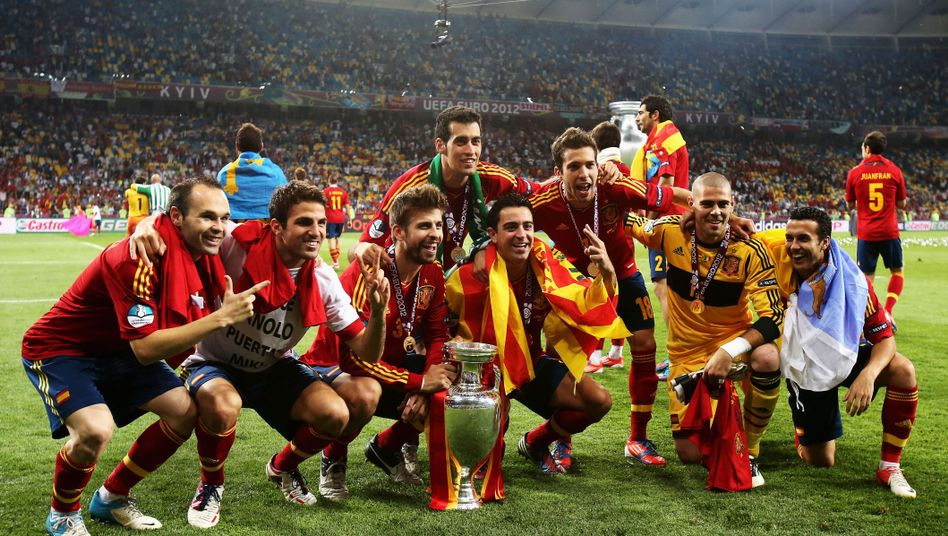 """Europameister Spanien: """"Eine legendäre Selección"""""""