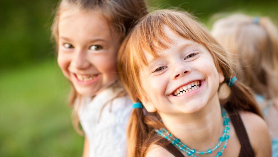 Lachende Kinder (Symbolfoto)