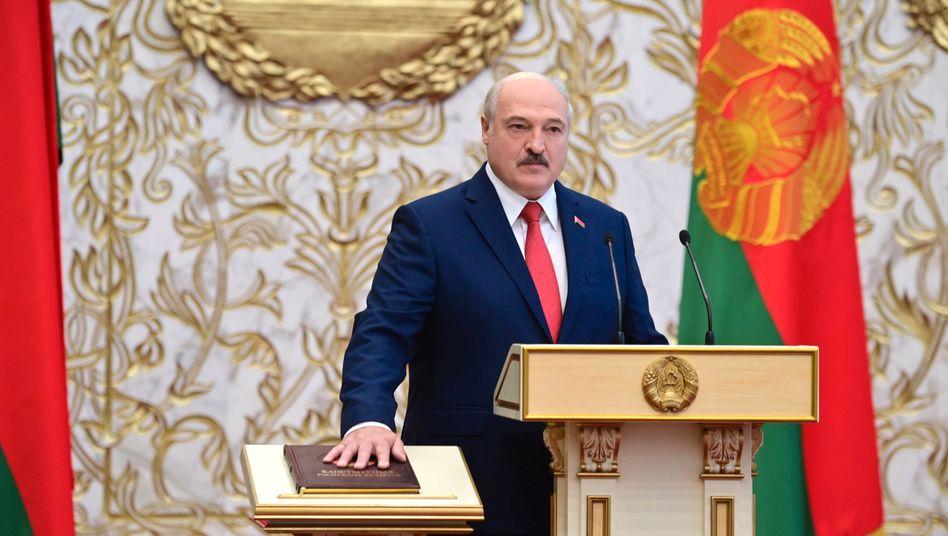 Belarussischer Machthaber Lukaschenko: Von der zerstrittenen EU wenig zu befürchten