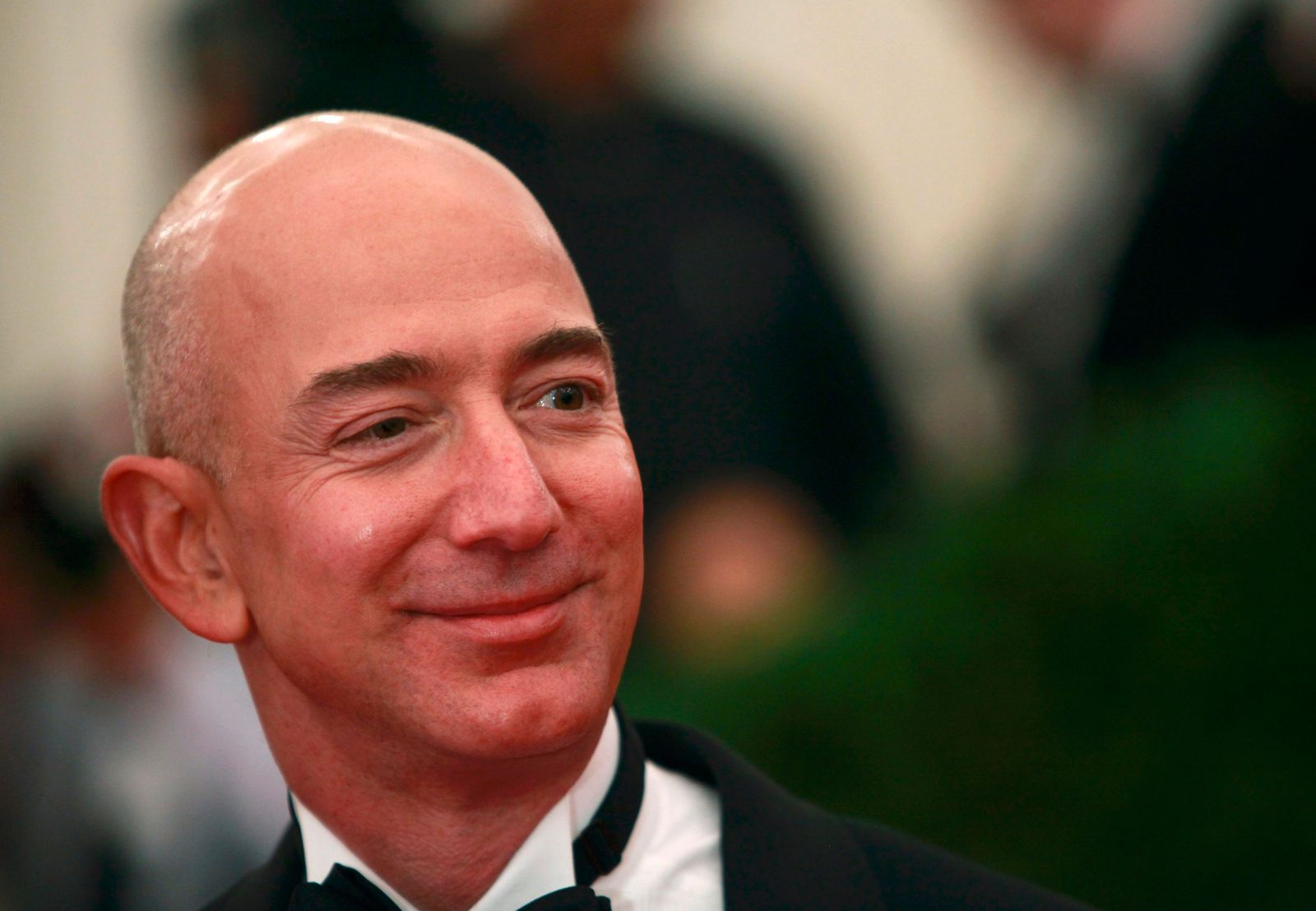 Amazon CEO Jeff Bezos arrives at the Metropolitan Museum of Art Costume Institute Benefit in New York