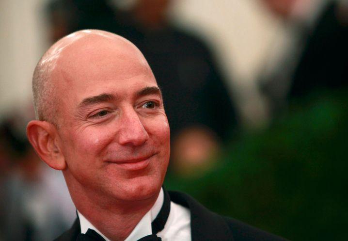 Jeff Bezos (Archivbild): Vermögen seit Jahresbeginn um 24 Milliarden US-Dollar gestiegen