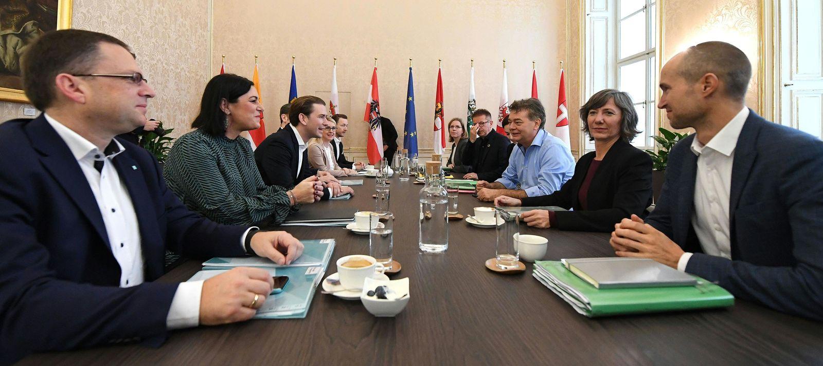 Sondierungsgespräche Wien