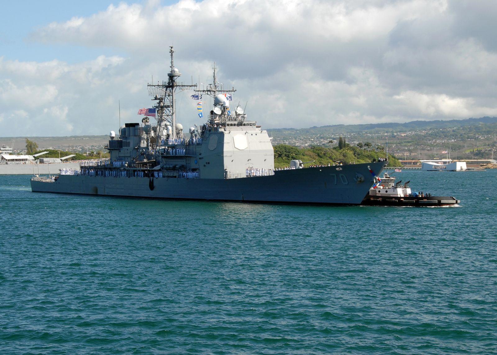 USS Lake Erie Hongkong