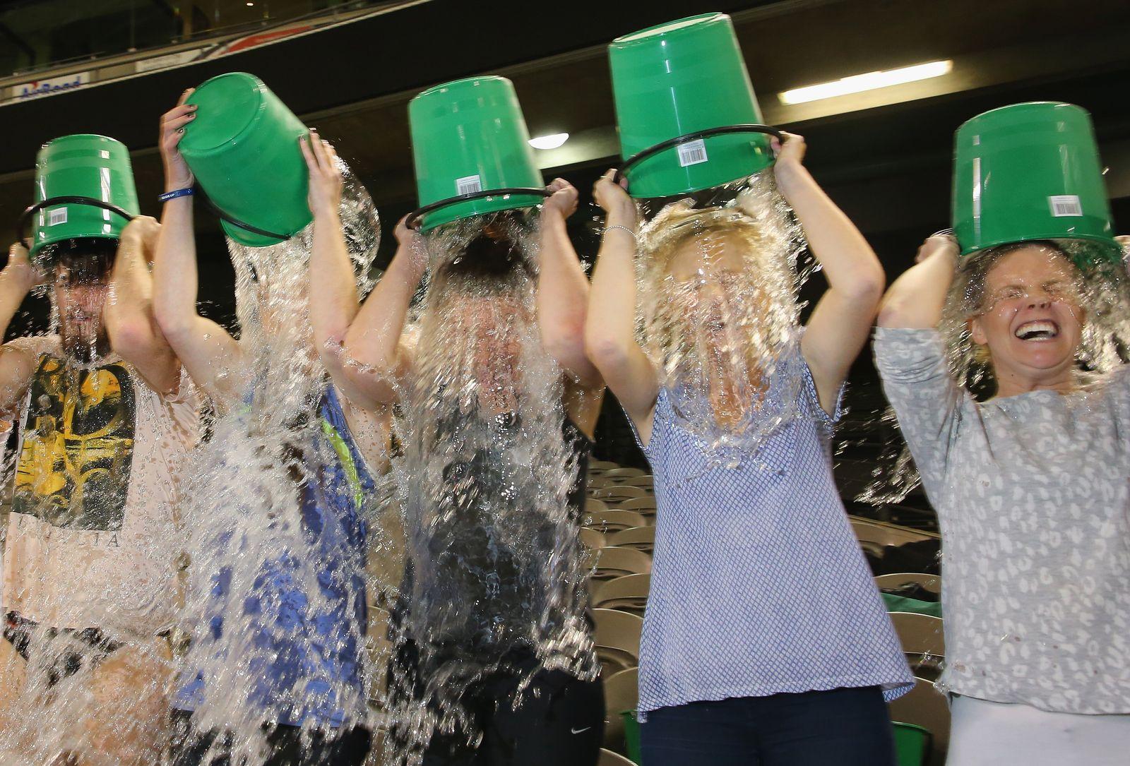 Ice Bucket Challenge Australien
