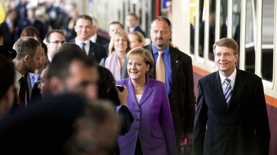 Kanzlerin Merkel, Vertrauter Pofalla Ohne die Politik geht nichts