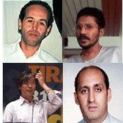 Vier Gesichter, vier systemkritische Stimmen: Zouhaire Yahyaoui und Ibrahim Lutfy (obere Reihe), Cai Chongguo und Jay Bakht