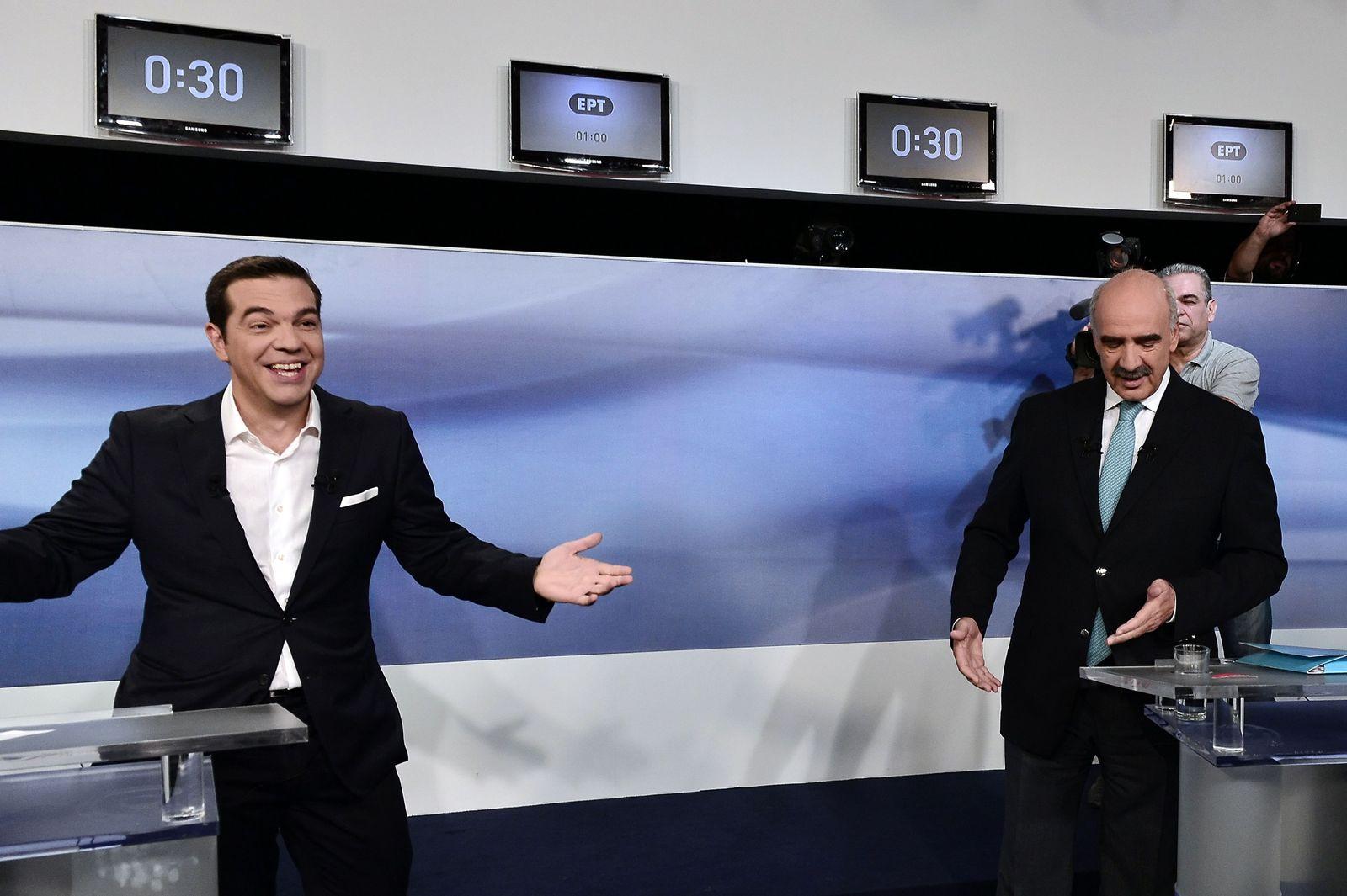 Tsipras / Meimarakis