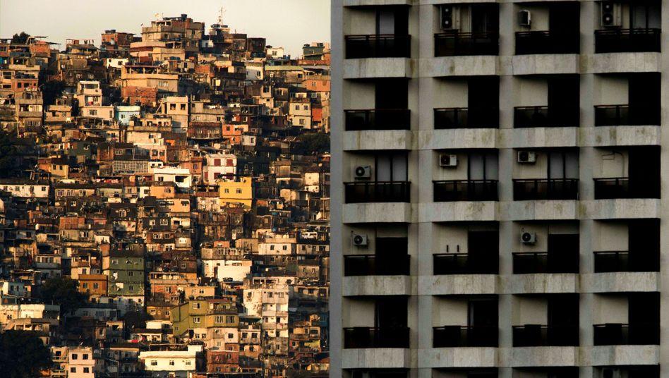 Favela in Rio de Janeiro: Hier leben die Ärmsten, jetzt werden sie zudem durch das Coronavirus bedroht