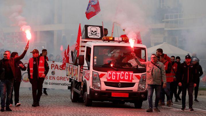 Generalstreik: Frankreich im Ausnahmezustand
