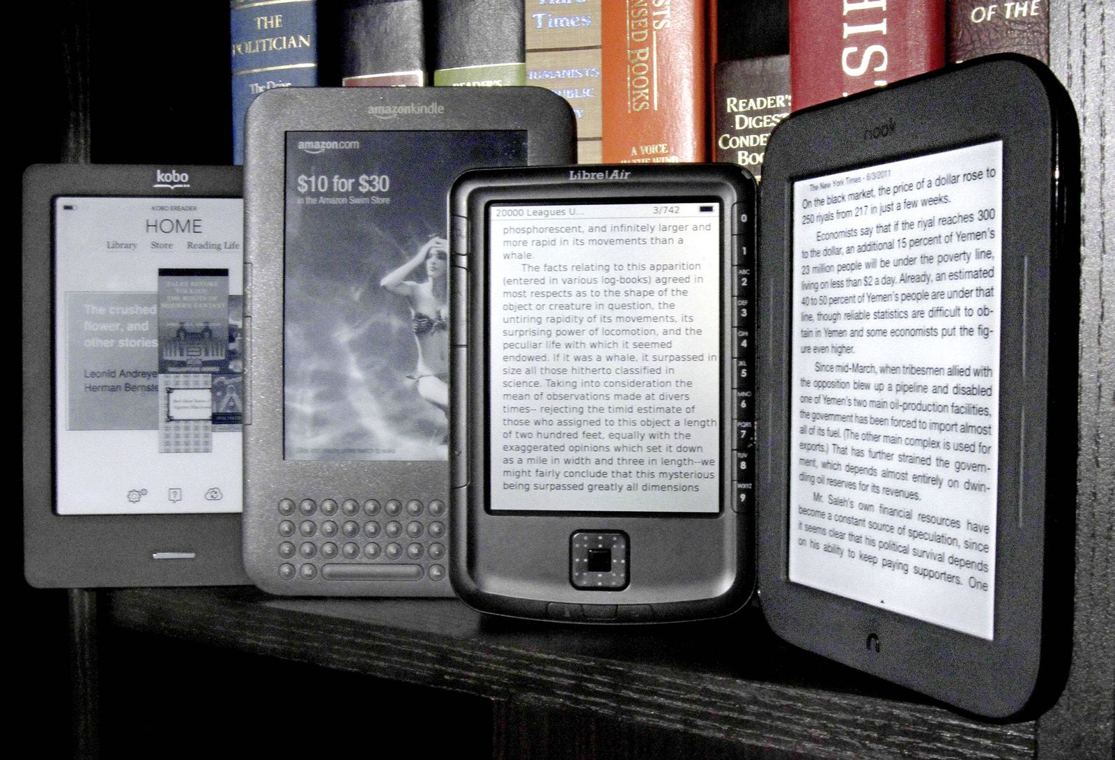 TEC Digital Life Tech Test Cheap E Readers