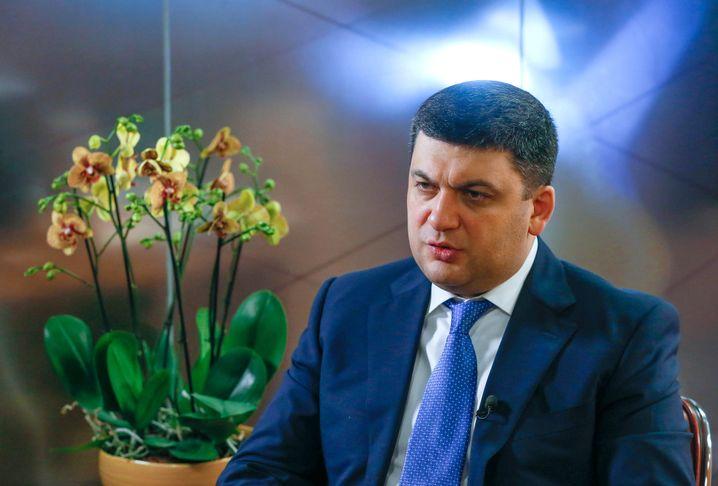 Premierminister Wolodimir Groisman