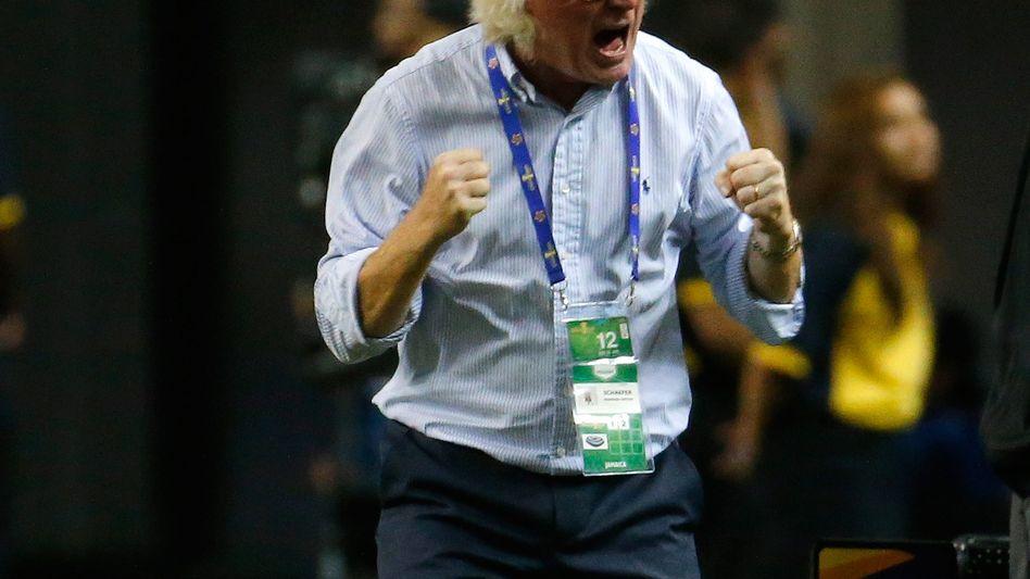 Jubelnder Jamaika-Coach Schäfer: Halbfinalsieg gegen die USA