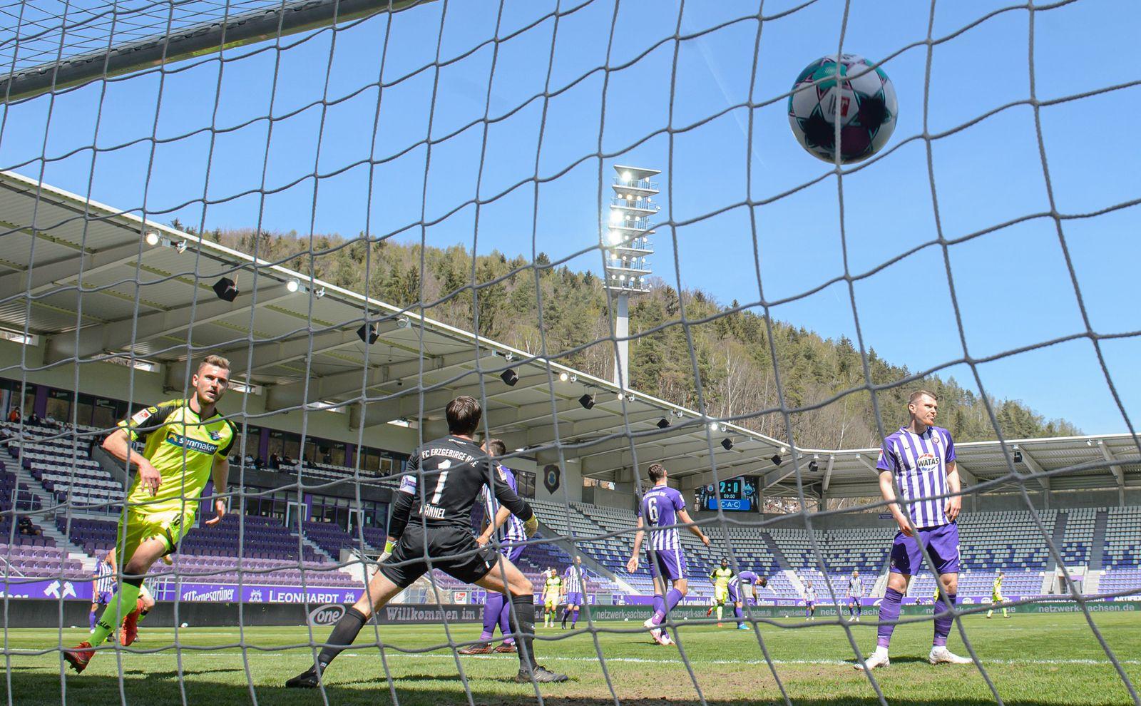 FC Erzgebirge Aue - SC Paderborn 07