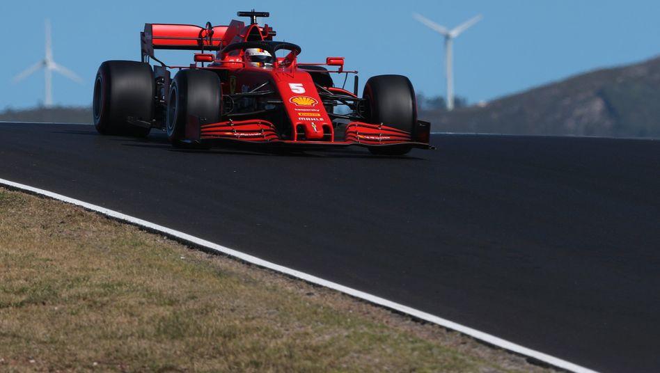 Sebastian Vettel auf dem Algarve International Circuit in Portimão