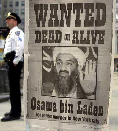 Die Beweise sind noch nicht öffentlich, doch verurteilt ist er schon: Bin-Laden-Steckbrief einer US-Zeitung