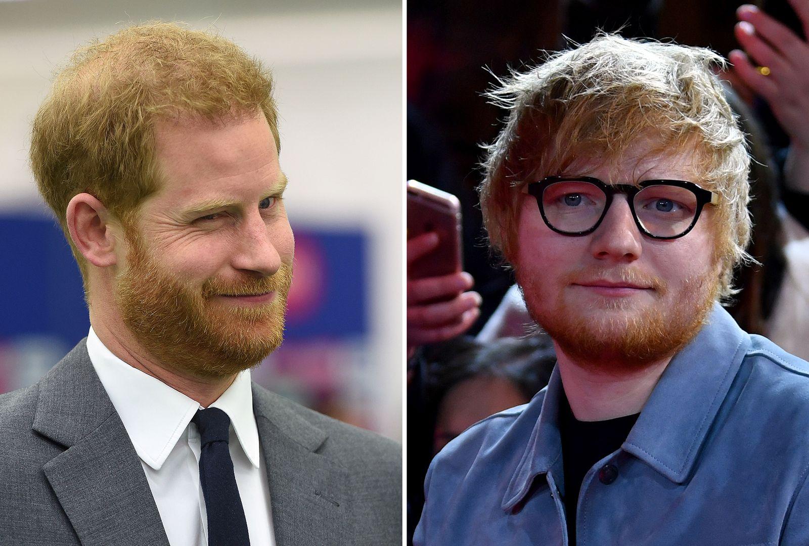 Prinz Harry / Ed Sheeran