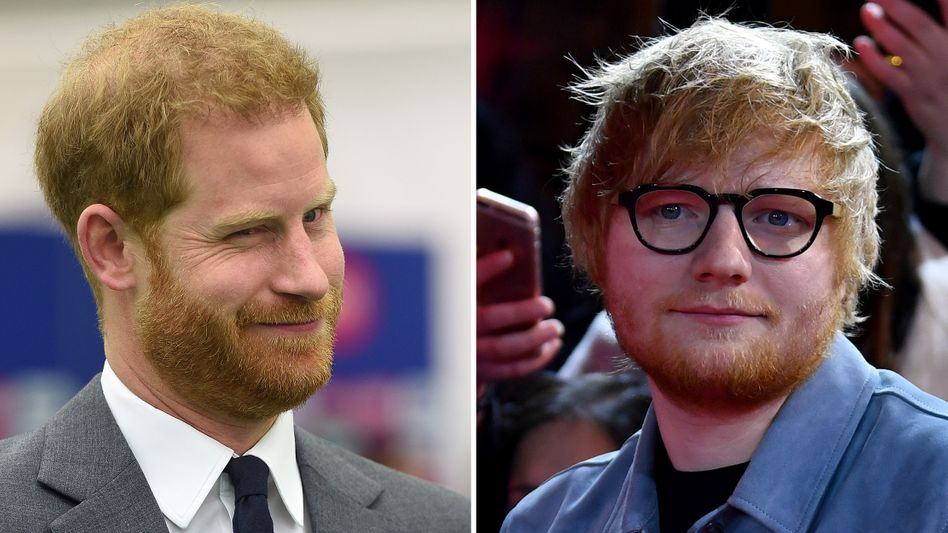 Wo der Clip von Prinz Harry und Ed Sheeran gedreht wurde, ist nicht klar