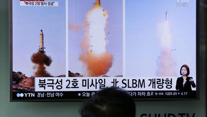 Nordkorea: Militärische Machtdemonstration im Westpazifik