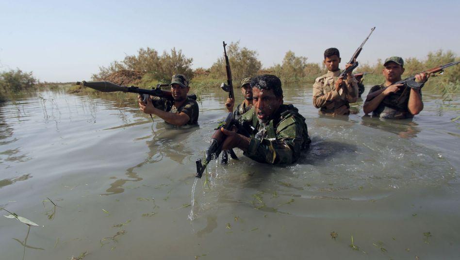 Kämpfer gegen den IS im Irak: Schon bald Unterstützung durch die Nato