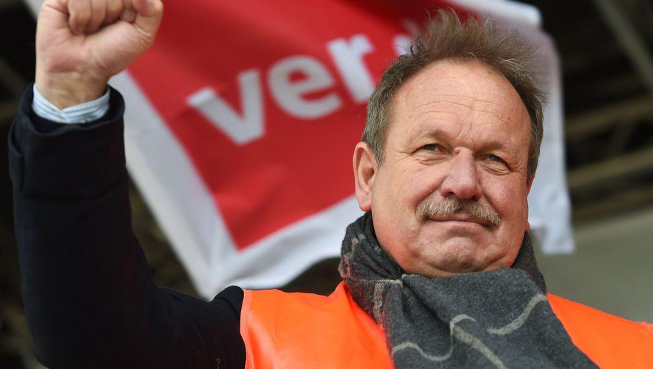 Verdi-Bundesvorsitzender Bsirske