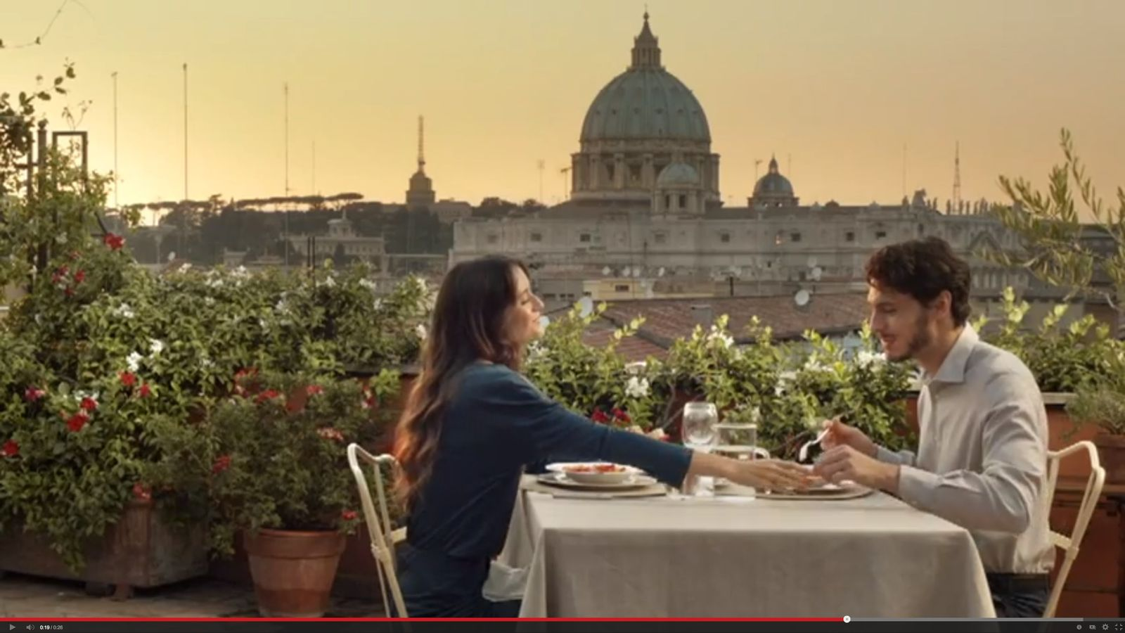 NUR ALS ZITAT TV Spot Barilla Pasta und Sauce