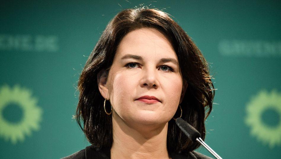 Grünen-Kandidatin Baerbock: