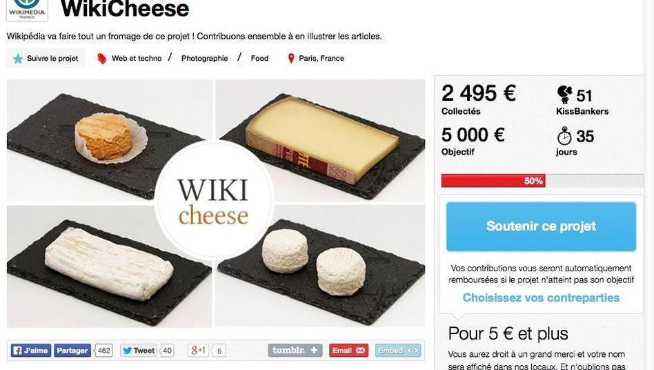 """""""Wikicheese""""-Spendenaufruf: Neue Käsebilder braucht das Netz"""