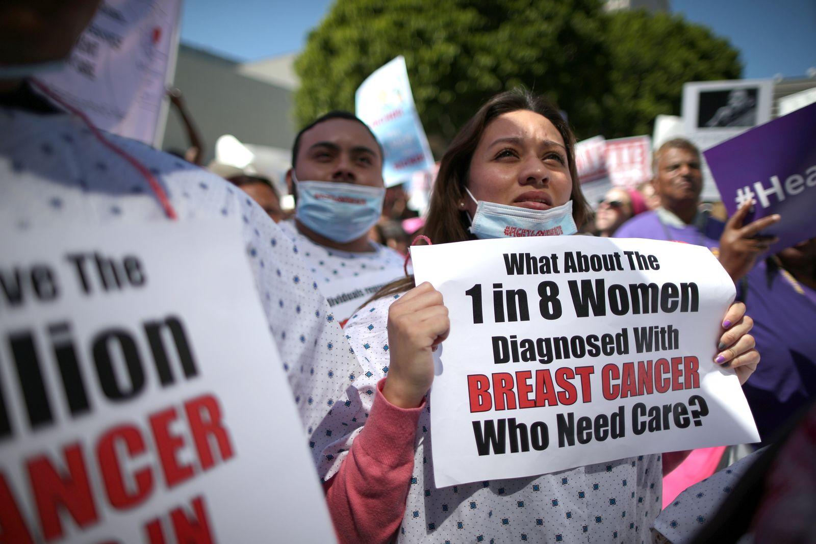 Videoteaser USA-HEALTHCARE/PROTEST-LA