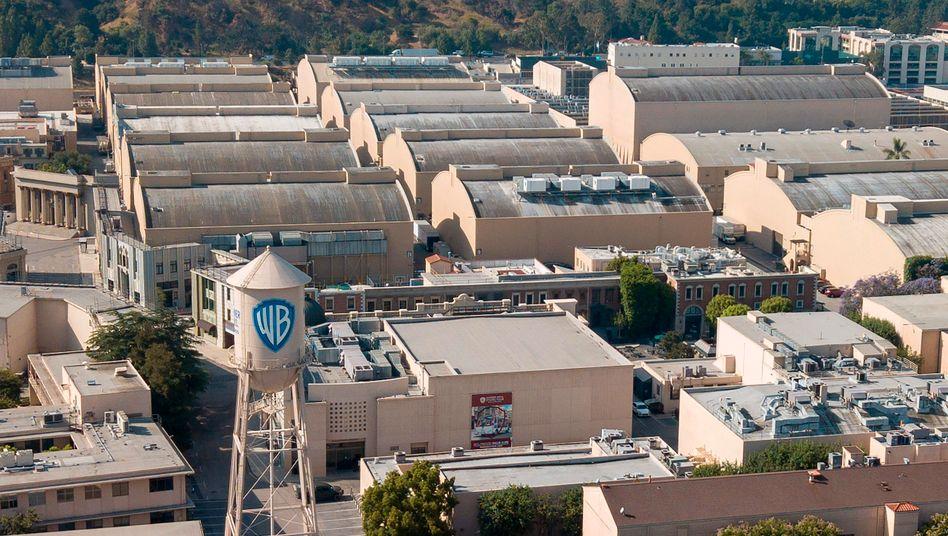 Die Warner Bros. Studios in Burbank, Kalifornien