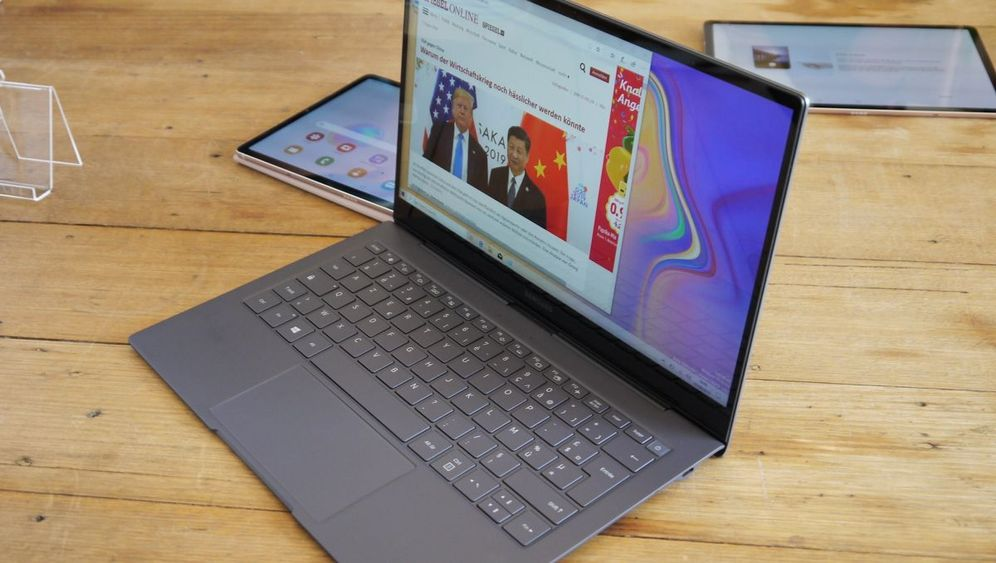 Galaxy Book S: Samsungs LTE-Notebook