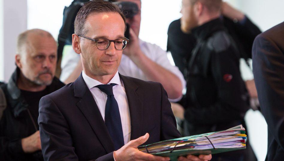 Justizminister Maas: Kritik von vielen Seiten