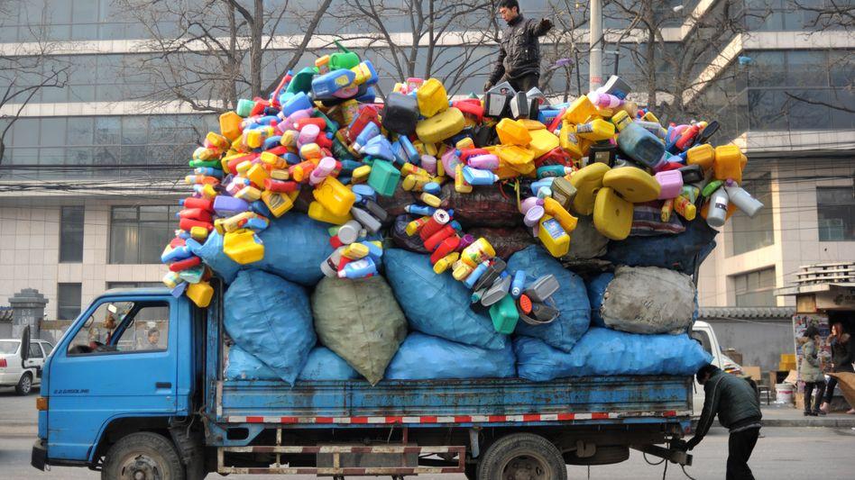 Recycling-Transport (in China): Firmen investieren nicht mehr
