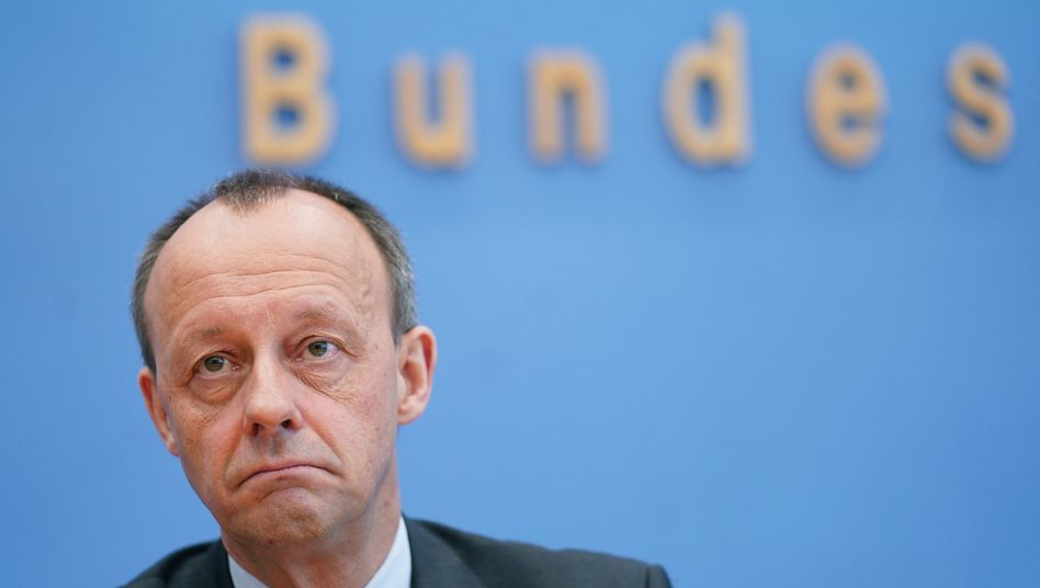 Friedrich Merz, ehemaliger Unions-Fraktionsvorsitzender im Bundestag