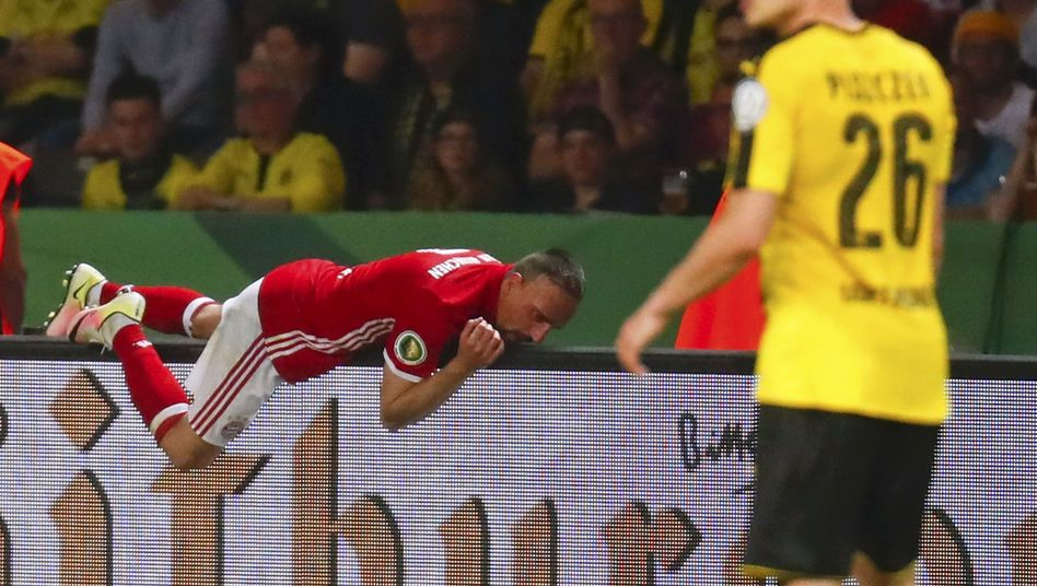 Franck Ribery im DFB-Pokalfinale