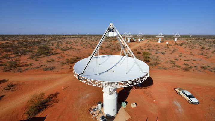 Blick in den Himmel: Grundstein für riesige Teleskopanlage gelegt