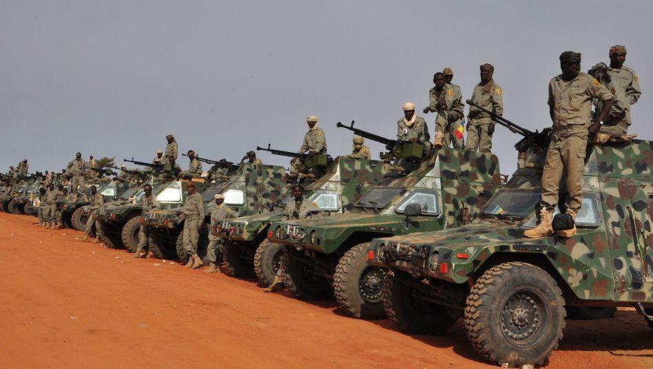 Soldaten im Tschad: Mehr Kriege durch globale Erwärmung?