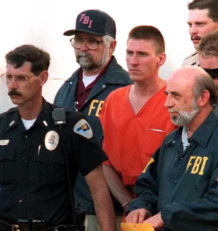 Oklahoma-Attentäter McVeigh: Rechtliche Mittel, keine militärischen