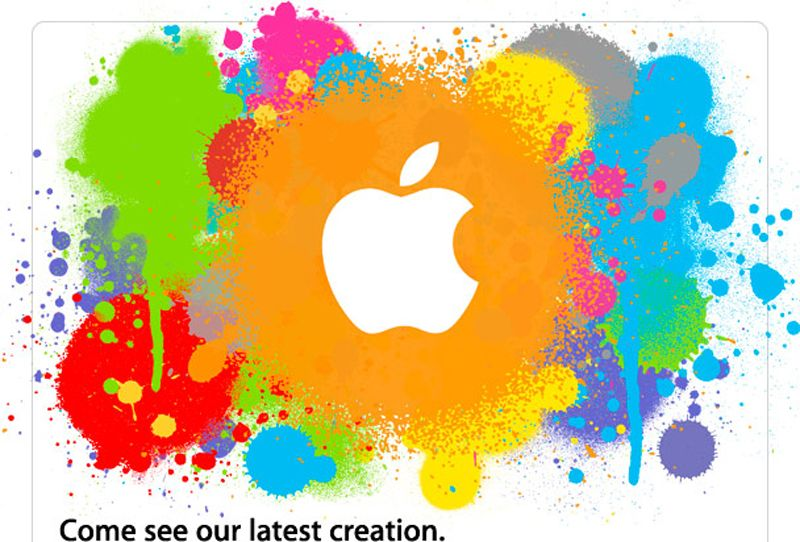 SCREENSHOT Apple / Creation