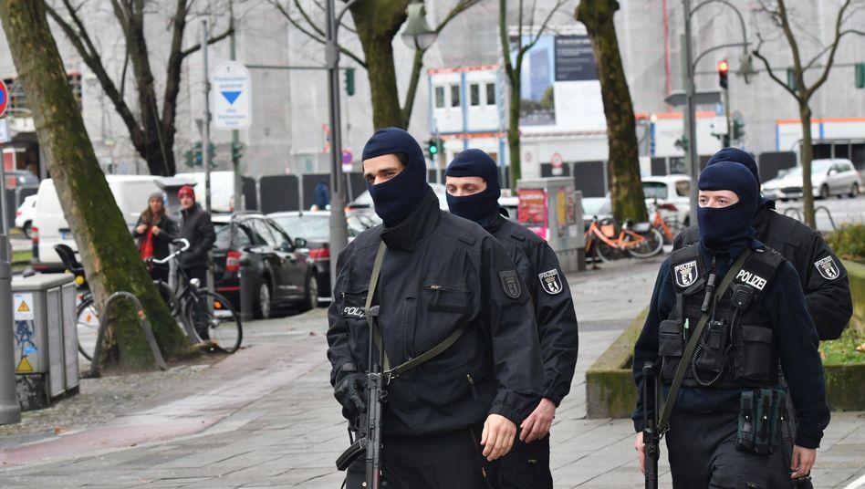 Razzia gegen Islamistenszene in Berlin (Archivbild von 2017)