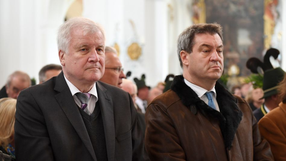 Horst Seehofer, Markus Söder