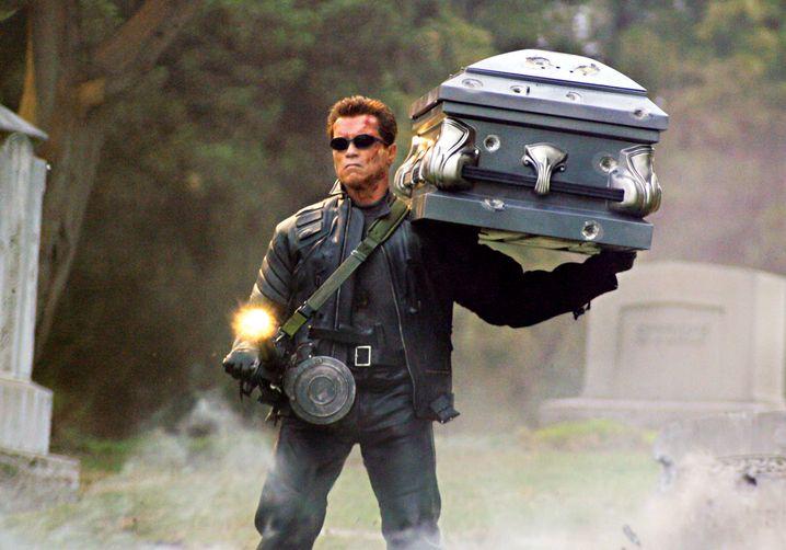 "Szene aus dem Film ""Terminator 3"""