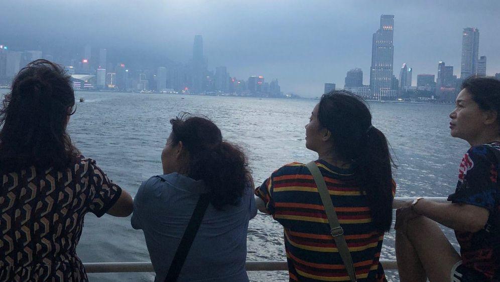 Hongkong: Besuch aus China