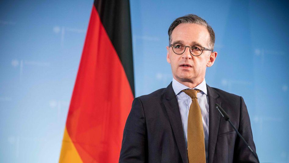 """Außenminister Maas nennt das derzeitige Verhältnis beider Länder """"kompliziert"""""""