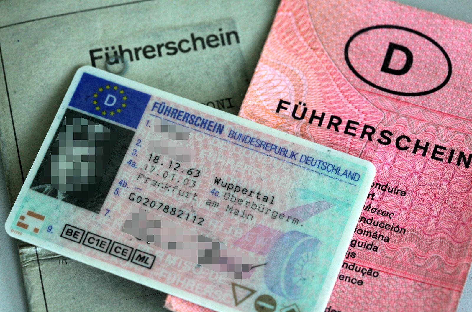 Führerschein / Führerscheine