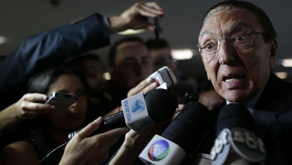 """Brasilianischer Energieminister Edison Lobão: """"Gravierende, zu verurteilende Tatsache"""""""
